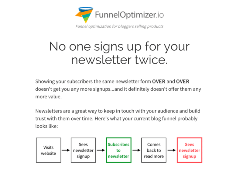 Funnel Optimizer demo at WSL