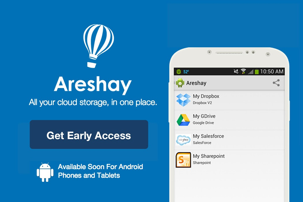 Walnut St. Labs Announces Areshay, an Android App To Access All Your Documents