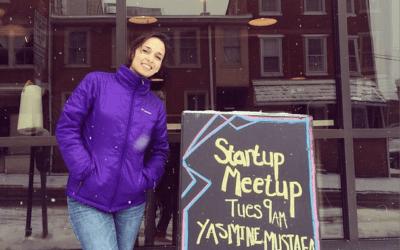 1st Startup Meetup of 2015 w/ Yasmine Mustafa!