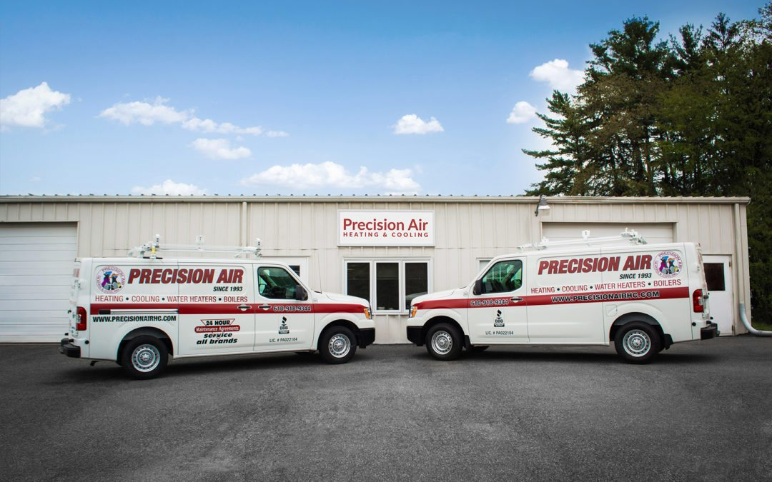 Client Spotlight: Precision Air Heating & Cooling
