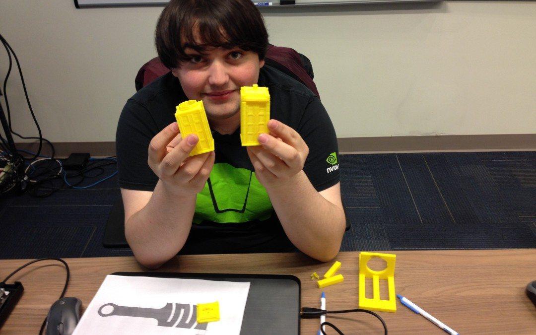 Wilhem Arthur Leads WSL's MiniMaker Space