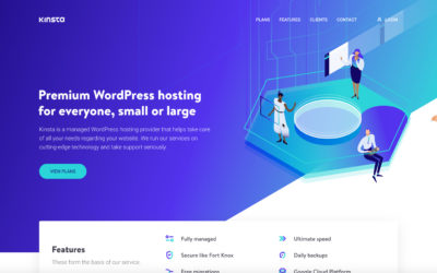 Choose Kinsta for WordPress Hosting